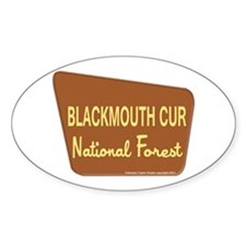 Blackmouth Cur Decal