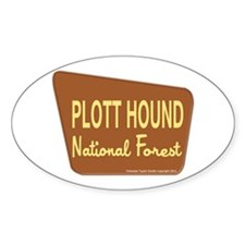 Plott Hound Decal