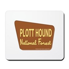 Plott Hound Mousepad