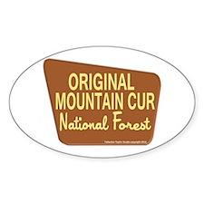 Original Mountain Cur Decal