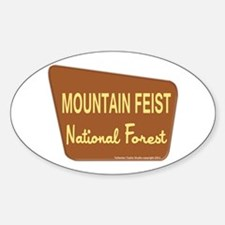 Mountain Feist Decal