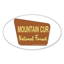 Mountain Cur Decal