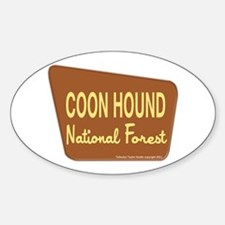 Coon Hound Decal