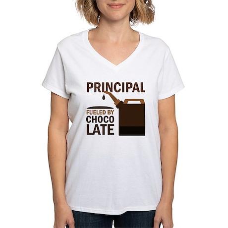 Principal Gift Women's V-Neck T-Shirt