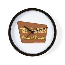 Treeing Walker Wall Clock