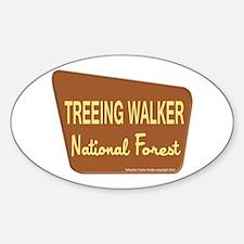 Treeing Walker Decal