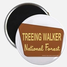 Treeing Walker Magnet