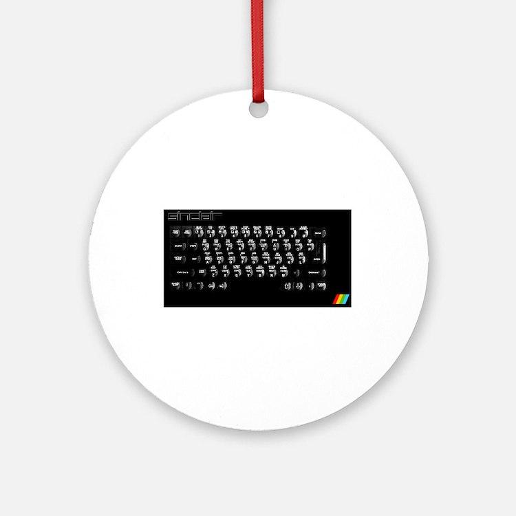 Sinclair ZX Spectrum Plus Ornament (Round)