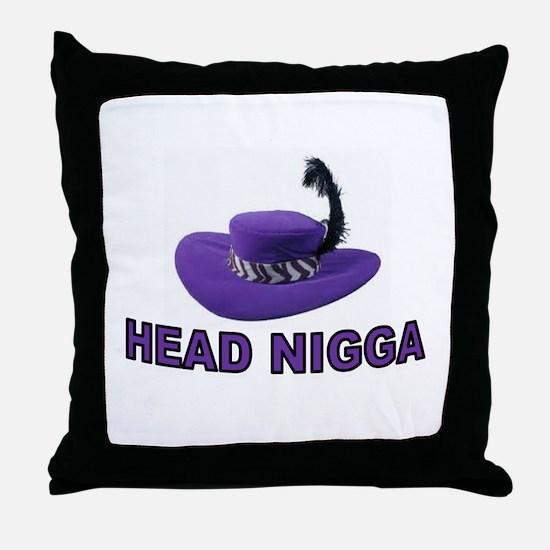 I AM DA MAN Throw Pillow