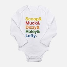 Bob's Original Crew Long Sleeve Infant Bodysuit