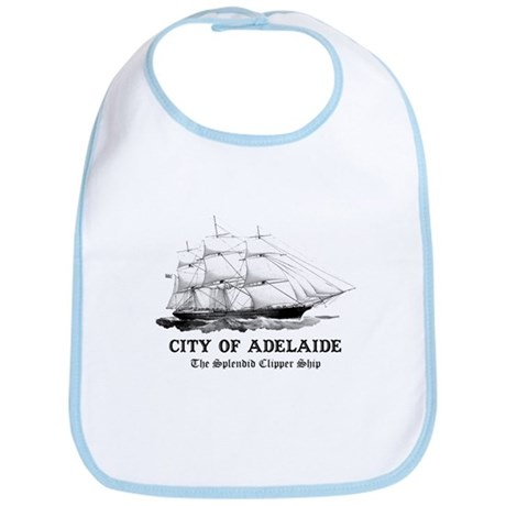 Clipper Ship Bib
