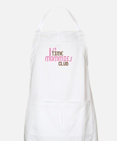 1st Time Mommies Club (Pink) Apron