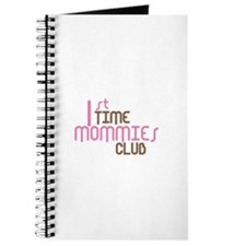 1st Time Mommies Club (Pink) Journal