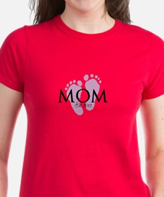 New Mom Customizable Year Tee