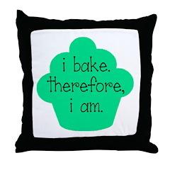 I am. Throw Pillow