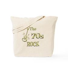 70s Rock Tote Bag
