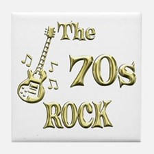 70s Rock Tile Coaster