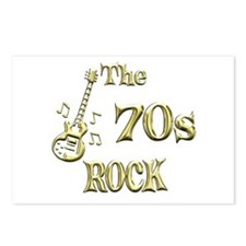 70s Rock Postcards (Package of 8)