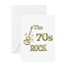 70s Rock Greeting Card