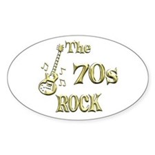 70s Rock Decal