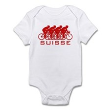 Suisse Cycling Infant Bodysuit