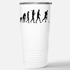 Evolution of Ice Hockey Travel Mug