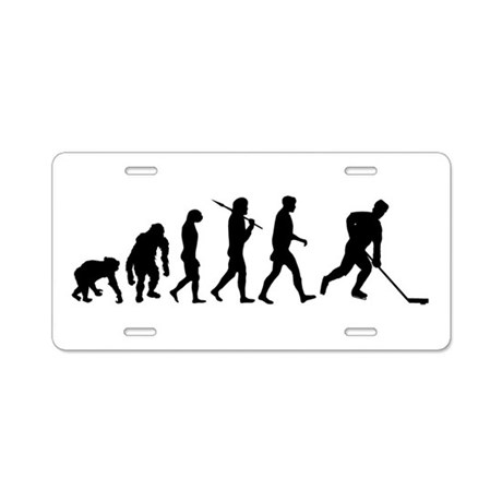 Evolution of Ice Hockey Aluminum License Plate