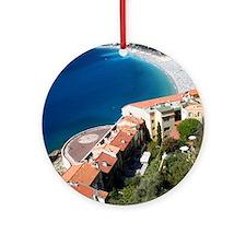 Promenade des Anglais Ornament (Round)