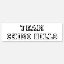 Team Chino Hills Bumper Bumper Bumper Sticker