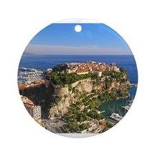Monaco Castle Ornament (Round)