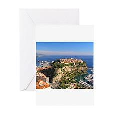 Monaco Castle Greeting Card