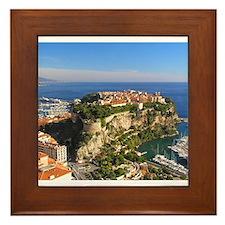 Monaco Castle Framed Tile