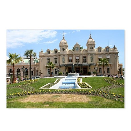 Monte Carlo Casino Postcards (Package of 8)