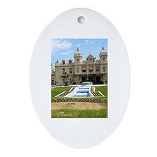 Monte Carlo Casino Ornament (Oval)