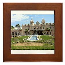 Monte Carlo Casino Framed Tile