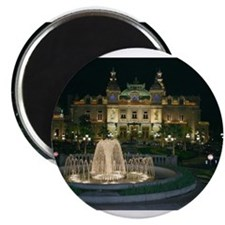 Monte Carlo Casino at Night Magnet