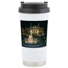 Monte Carlo Casino at Night Travel Mug