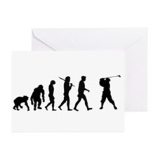 Evolution of Golf Greeting Cards (Pk of 20)