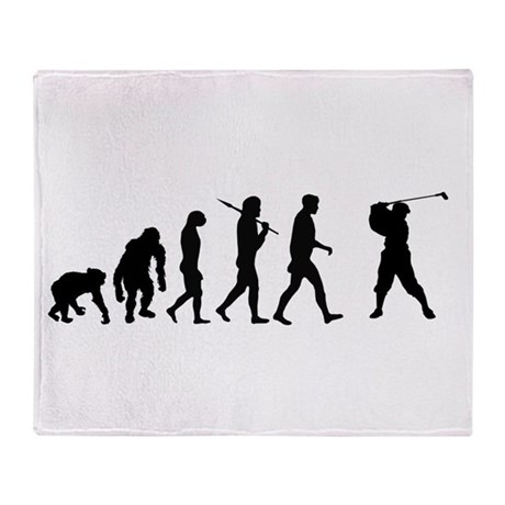 Evolution of Golf Throw Blanket