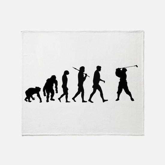 Evolution of Golf Throw Blanket