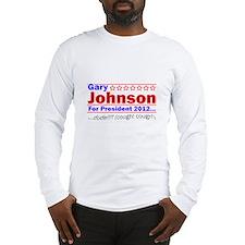 Gary Johnson for President Long Sleeve T-Shirt