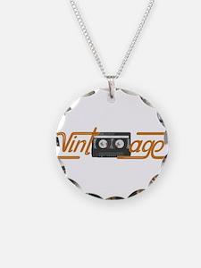 VINTAGE MIX TAPE Necklace