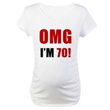 OMG 70th Birthday Shirt