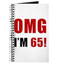 OMG 65th Birthday Journal