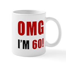 OMG 60th Birthday Mug