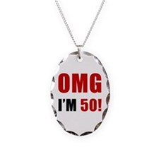 OMG 50th Birthday Necklace