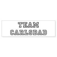 Team Carlsbad Bumper Bumper Sticker