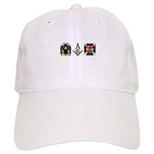 Multiple Masonic Bodies Baseball Cap