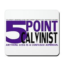 Five Point Calvinist - Mousepad