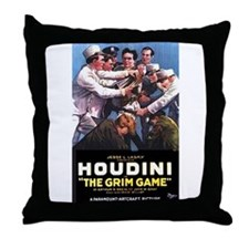 The Grim Game Throw Pillow